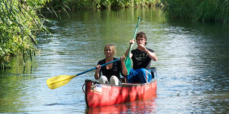 Canoeing tour from Neerpelt