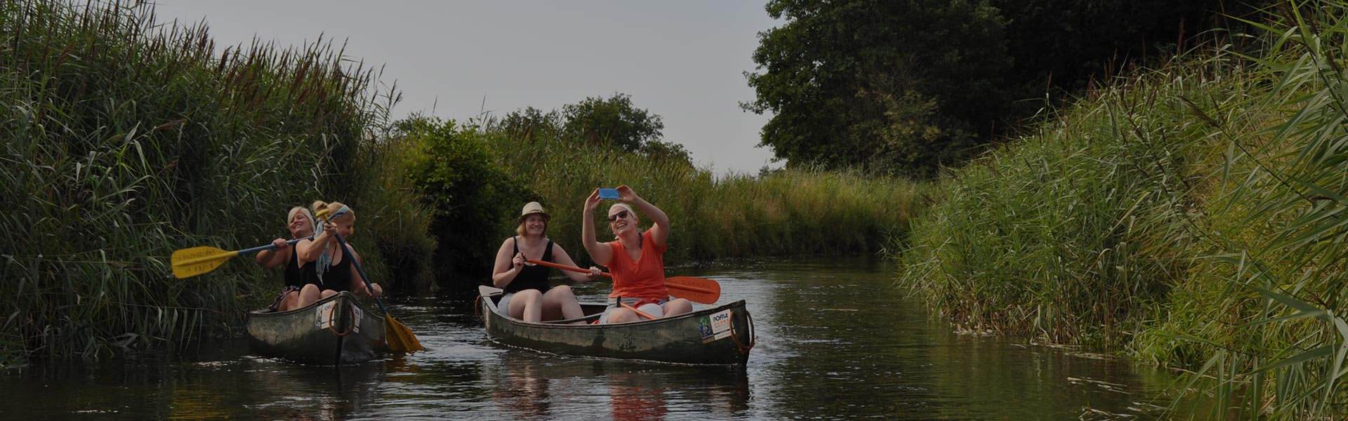 Canoeing tour from Borkel en Schaft