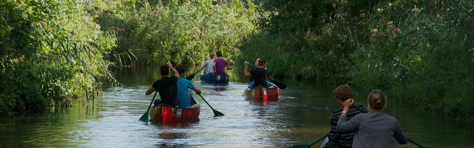 Canoeing for schools
